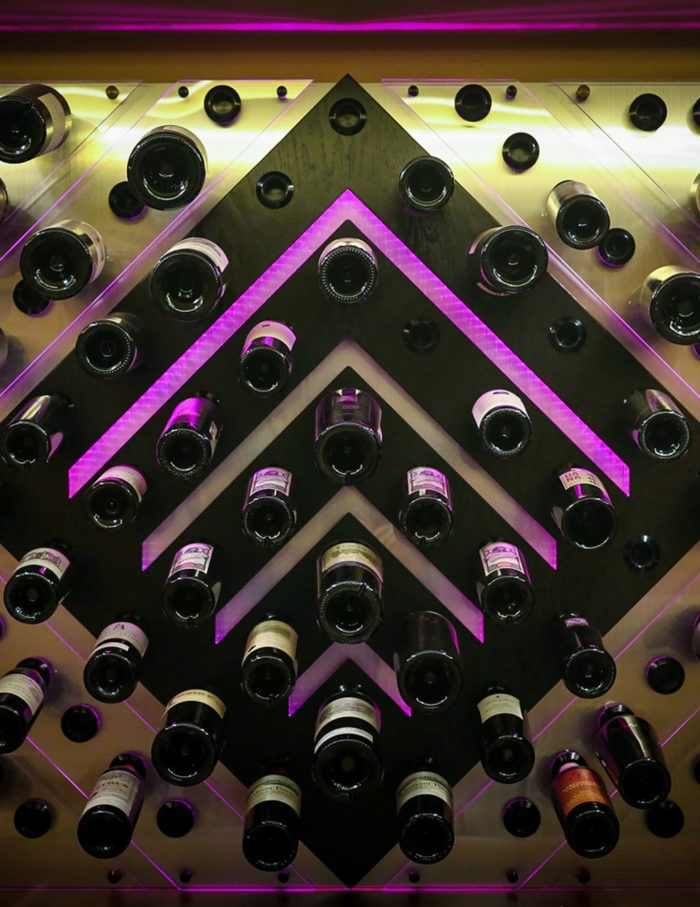 Custom Wine Port Panel