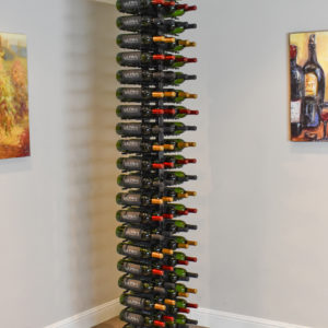 Floor to Ceiling Mounted Wine Rack Ultra Wine Racks & Cellars