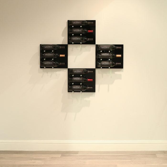 Fusion Panel HZ Bundle of 4 Black