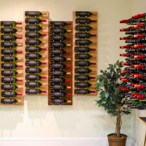 Mounted Wine Rack Panels