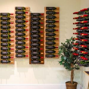 Mounted Wine Rack Panels