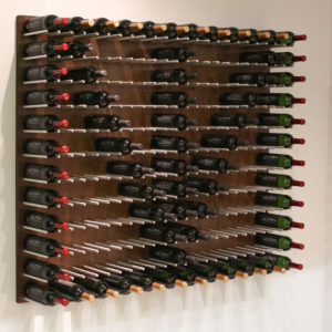 Wall Mounted Wine Rack Panels (Cork-Out)