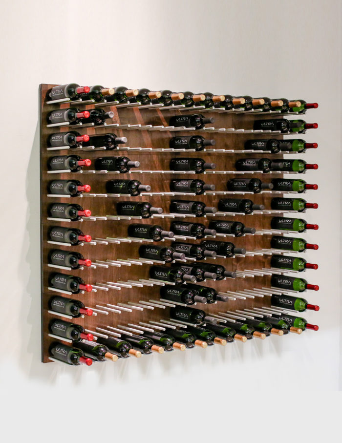 Mounted Wine Rack Panels (Cork-Out)