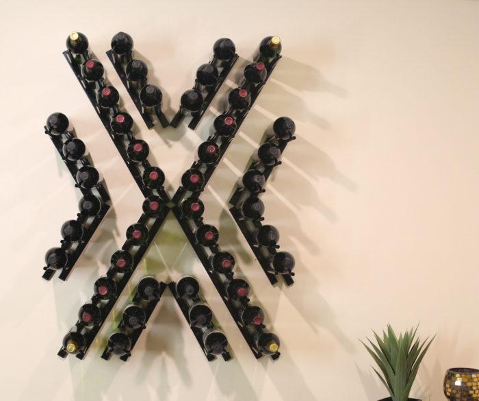 Angle-X1 Wine Wall Rails