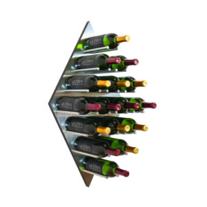 Diamond Fusion Contemporary Wine Rack Panel Ultra Wine Racks & Cellars