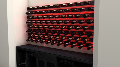 Custom Wine Port With LEDs
