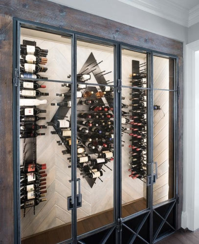 contemporary-wine-cellar-vertical-wine-racks-reclaimed-wood (1)